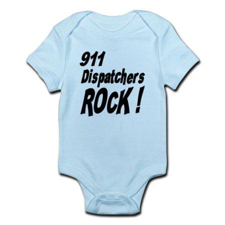 Cafepress   911 Dispatchers Rock   Infant Bodysuit   Baby Light Bodysuit
