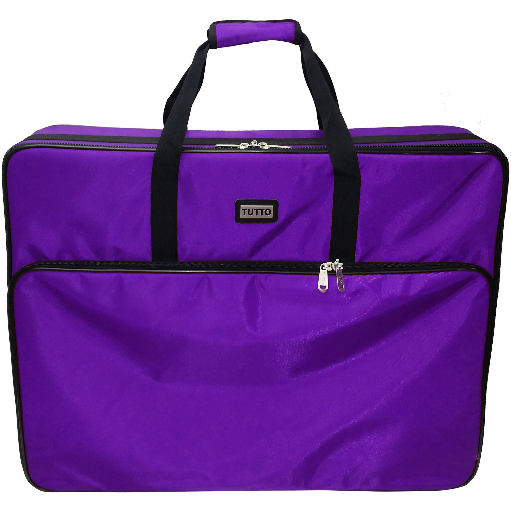 "TUTTO 26"" Embroidery Project Nylon Bag, Purple"