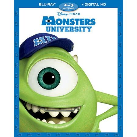 Monsters University (Blu-ray + Digital HD) for $<!---->
