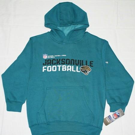 Jacksonville Jaguars Reebok Youth Sideline Statement Hooded Sweatshirt by