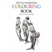 the old fashioned colouring book vintage fun for adults and children - Coloring Books For Toddlers