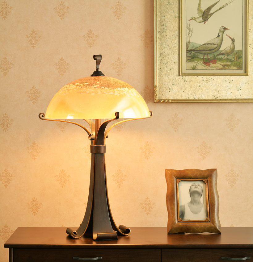 Kenroy Home Santa Fe Table Lamp, Chocolate Caramel