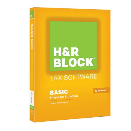 H Block Hrb Tax Software 15 Basic 2015 For Pc Mac  1 Year Subscription  Traditional  N914