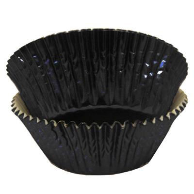 Black Foil - Baking Cupcake Liners - 50 Count