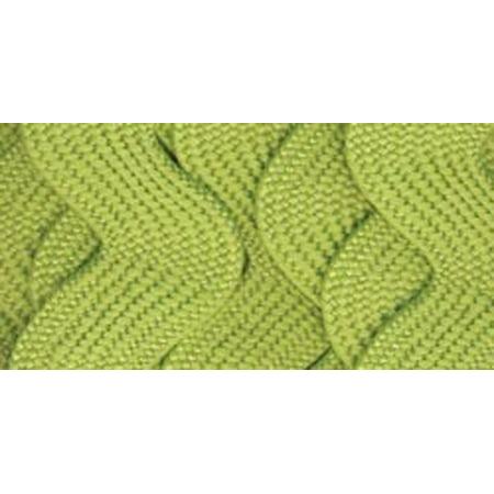 Simplicity Wrights Jumbo Rick Rack Craft Trim, Emerald