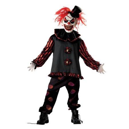 Morris Costumes CARVER THE CLOWN CHLD MEDIUM costume - image 1 of 1