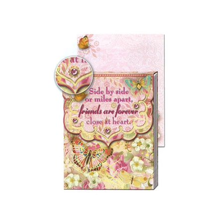 Punch Studio Note Pad Pocket Wow Friends Forever