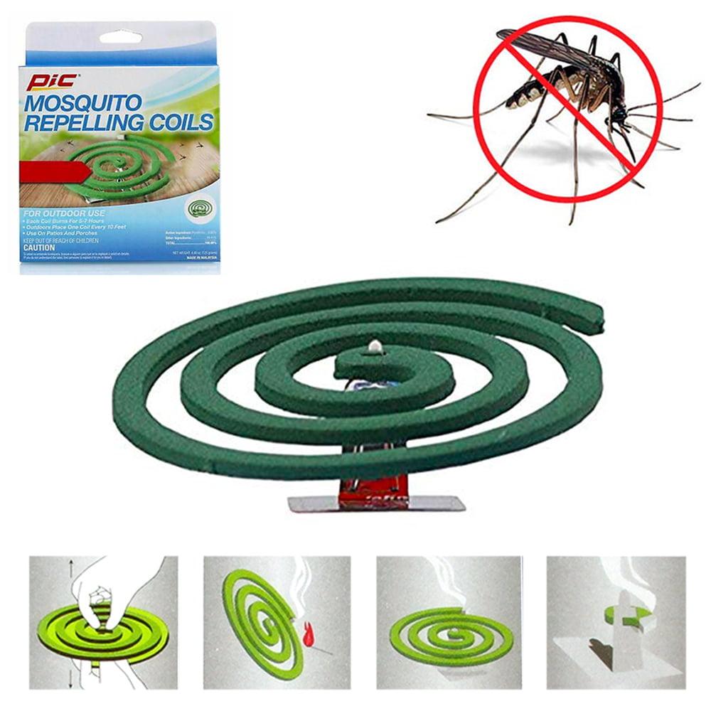 8 Pks Mosquito Repellent 32 Coils Outdoor Use Skin ...