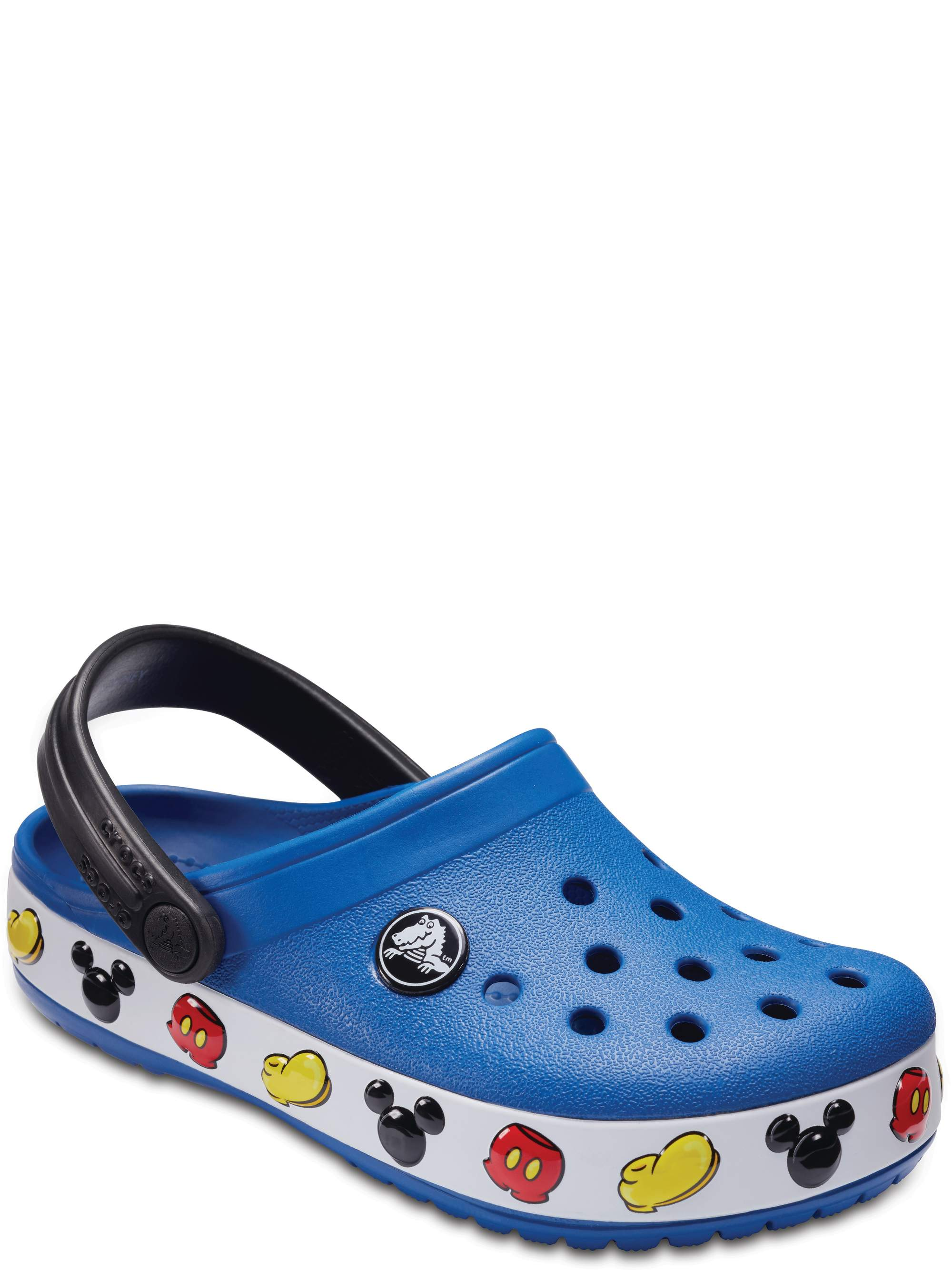 The Cute Lil Caterpillar Clog in Blue from Chunks of Charm