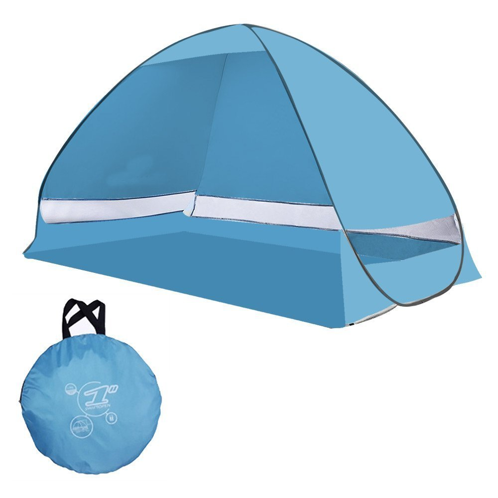 Instant Family Tent Automatic Pop Up Instant Portable Outdoors Beach Tent , Lightweight Portable Family Sun Shelter... by