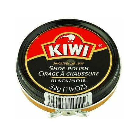 Kiwi 10111 Shoe Paste Polish 1-1/8 Ounce, Black (Kiwi Polish Paste)