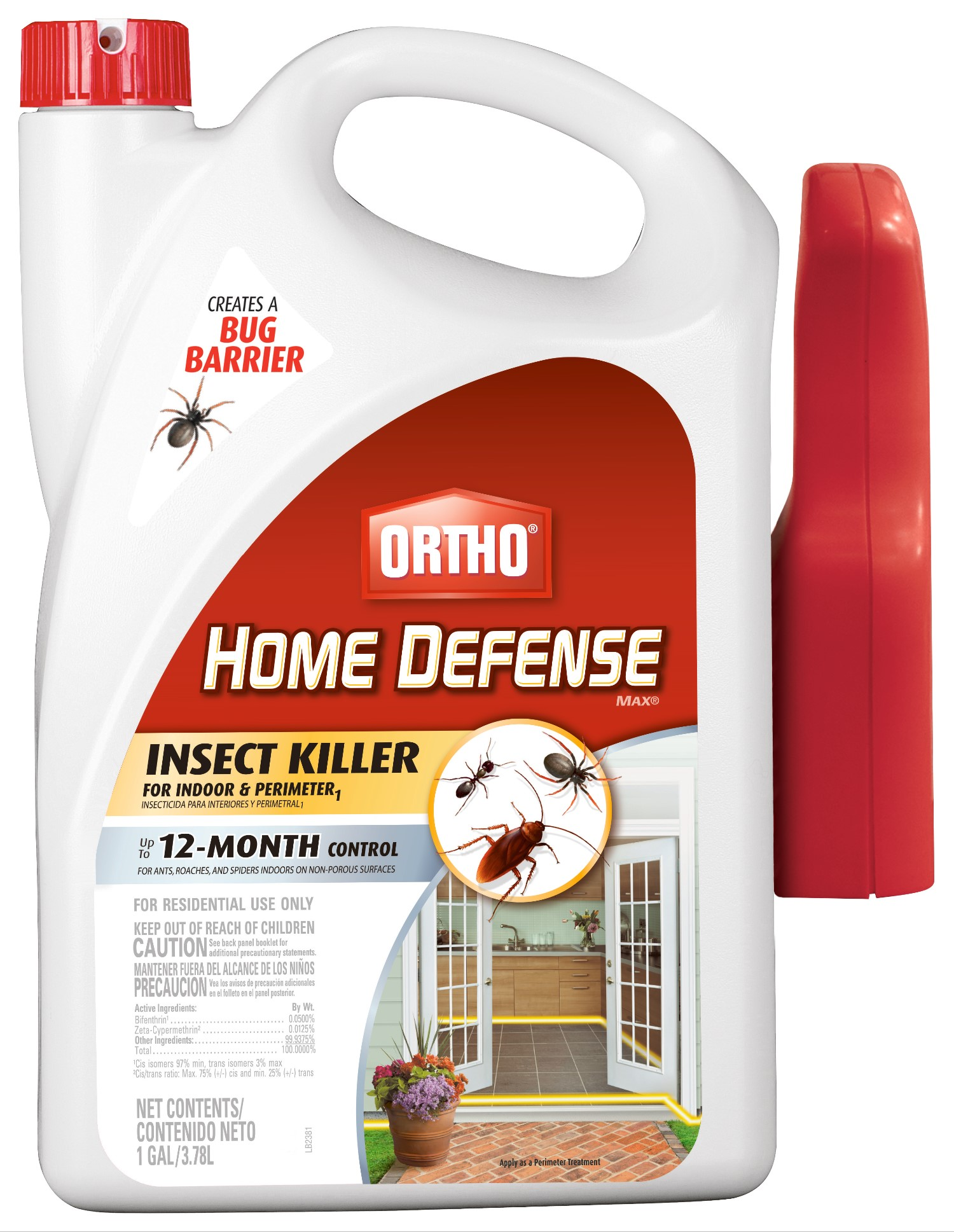 Ortho Home Defense Max Insect Killer For Indoor Perimeter1 Ready To Use Trigger 1 Gal Walmart Com Walmart Com
