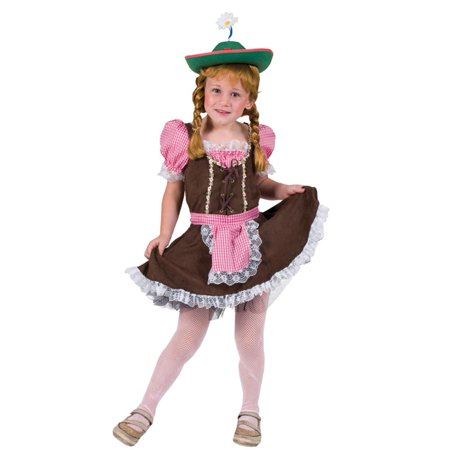Girls Alps Away Oktoberfest Costume (17th Century Children's Costume)