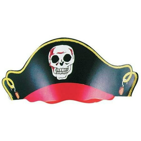 12 - Cardboard Bandana Pirate Hats - - Cardboard Pirate Boat