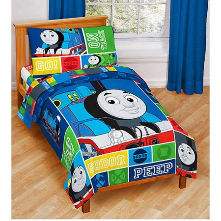 Thomas Amp Friends 4 Piece Toddler Bedding Set