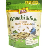 Good Sense Wasabi & Soy Seasoned Sliced Almonds, 5 oz