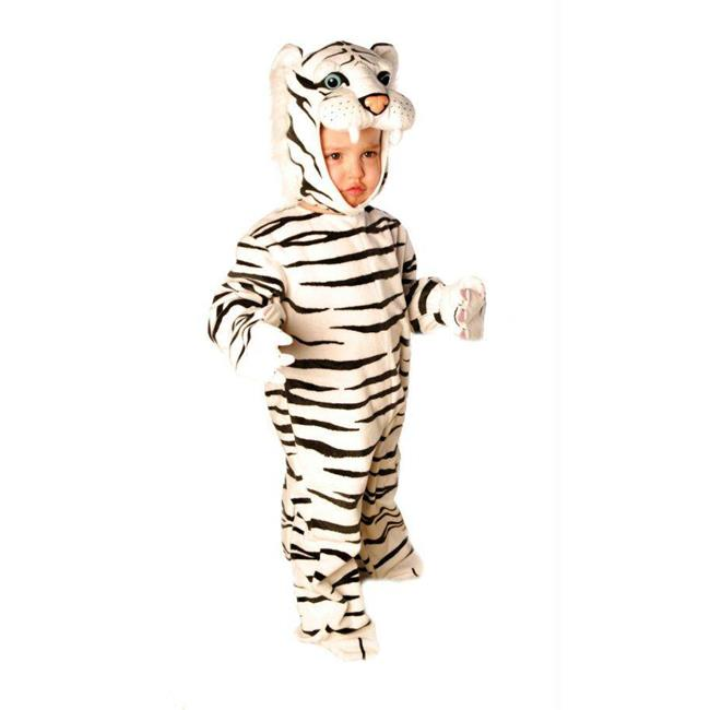 Costumes For All Occasions Ur26022Tm Tiger White Plush 18 24Months