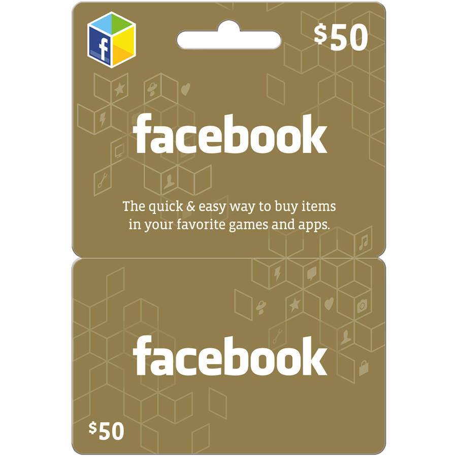 Facebook $50 eGift Card (Email Delivery)