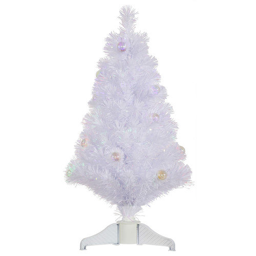 Vickerman Co. 3' White Artificial Christmas Tree with Stand