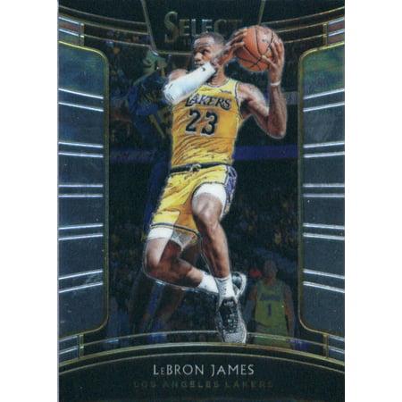 2018-19 Panini Select #11 LeBron James Los Angeles Lakers Basketball (Best Panini Los Angeles)