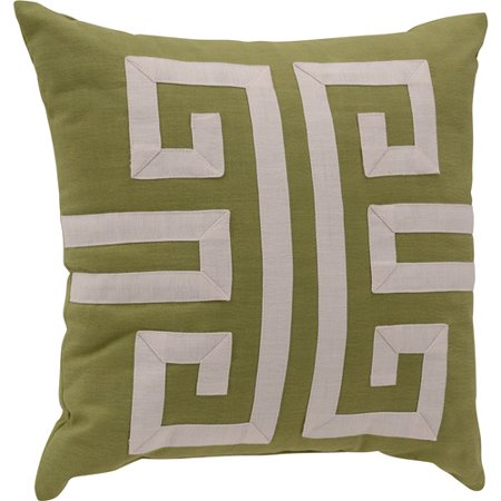 Key Decorative Pillow : Better Homes and Gardens Greek Key Decorative Pillow, Green - Walmart.com