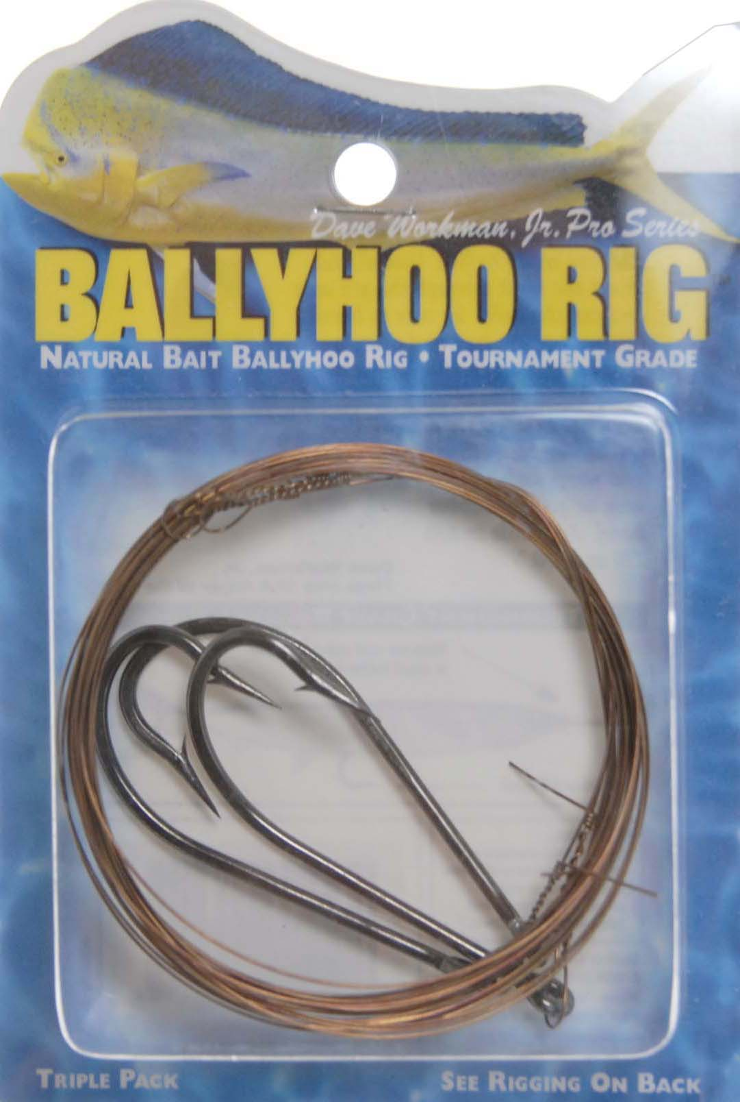 Boone Bait 00621 Ballyhoo Rig 7/0 Fishing Rig
