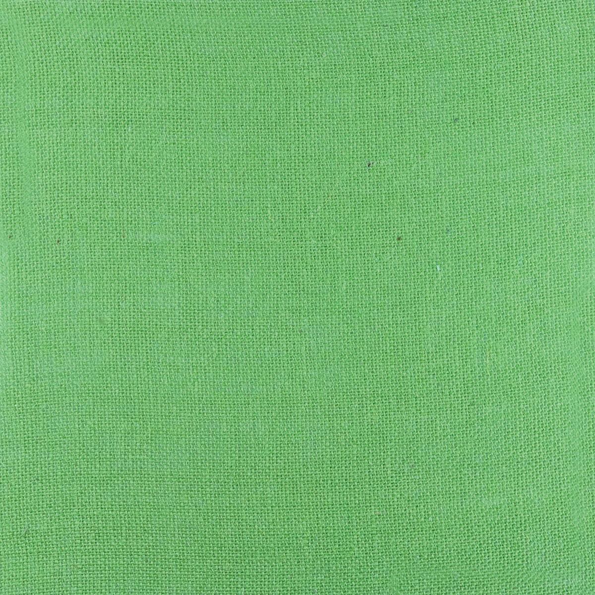 Burlap Sheet (unsewn) 100% Jute 12`X12`-Green Multi-Colored