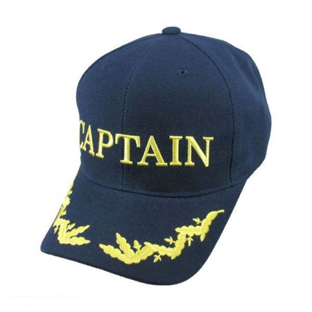 Captain Snapback Baseball Cap - ADJUSTABLE - Navy Blue - Walmart.com bf31706dd1f
