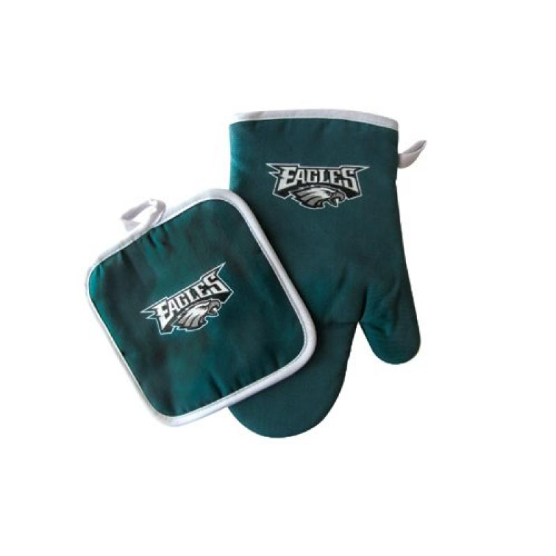 Philadelphia Eagles NFL Oven Mitt and Pot Holder Set by Pro Specialties Group