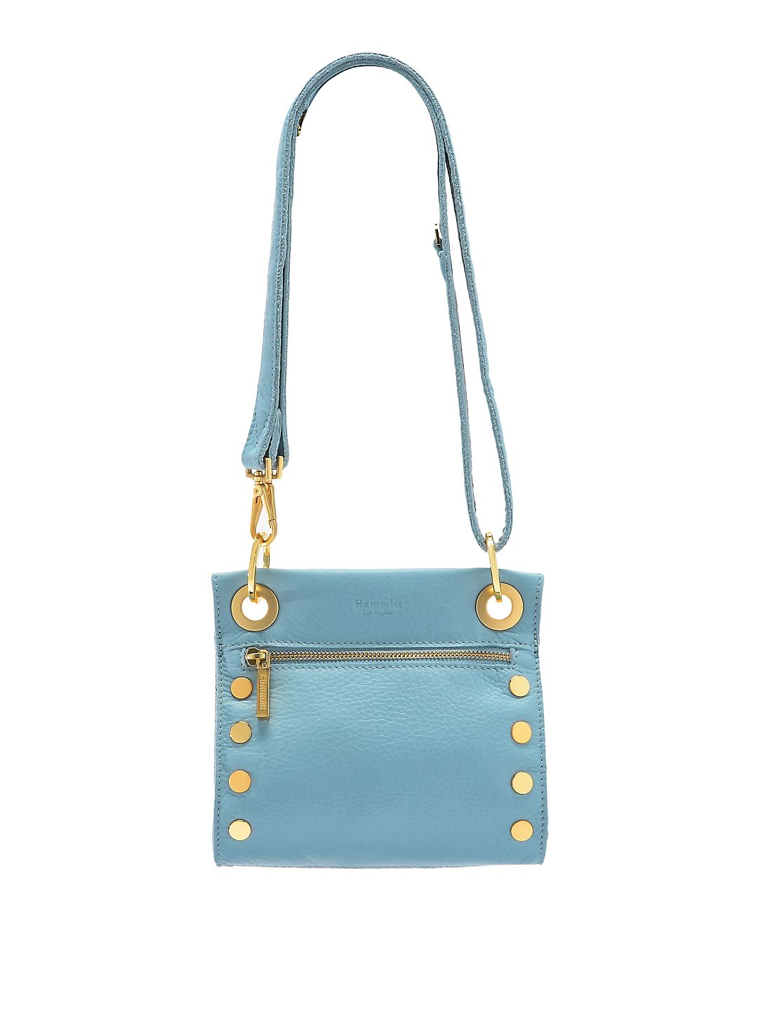 Tony Tumbled Leather Crossbody Bag