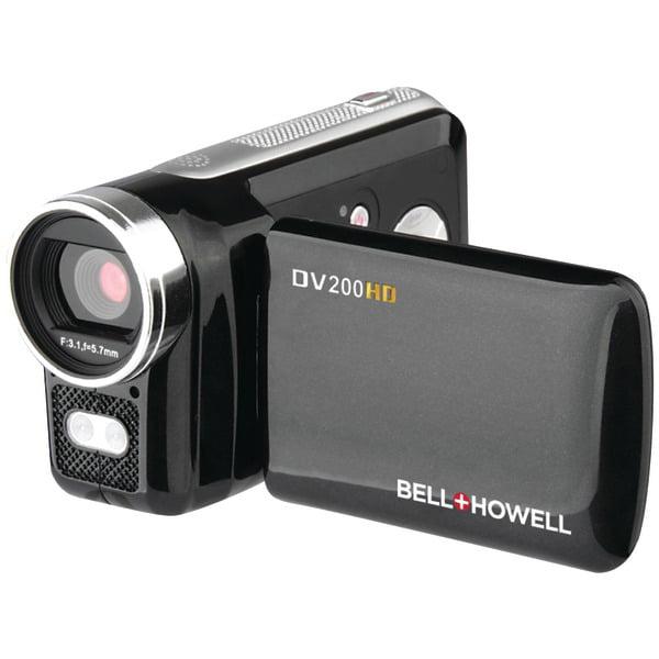 Bell+Howell DV200HD 5.0 Megapixel 720p HD Digital Video Camcorder