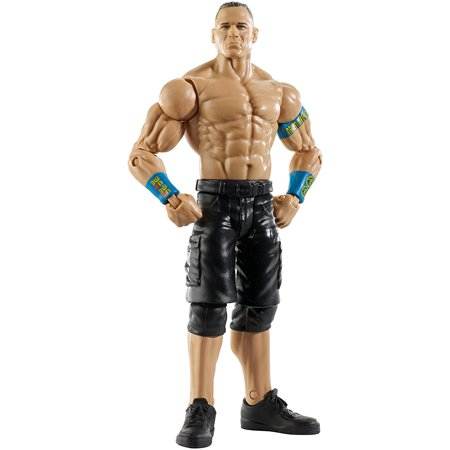 WWE Figure Series #55 - John Cena, Kids can recreate their favorite matches with this approximately 6-inch figure created in Superstar scale By