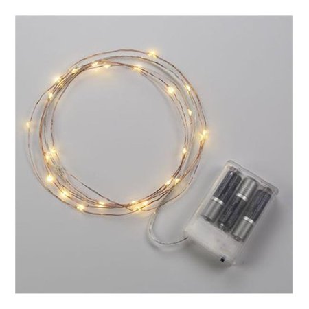 Indoor LED Starry String Light with 10 ft. Silver Wire - image 1 de 1