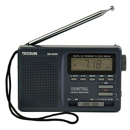 TECSUN DR-920C Digital FM/MW/SW World Band Radio ( Black Color) (Sw Radios)