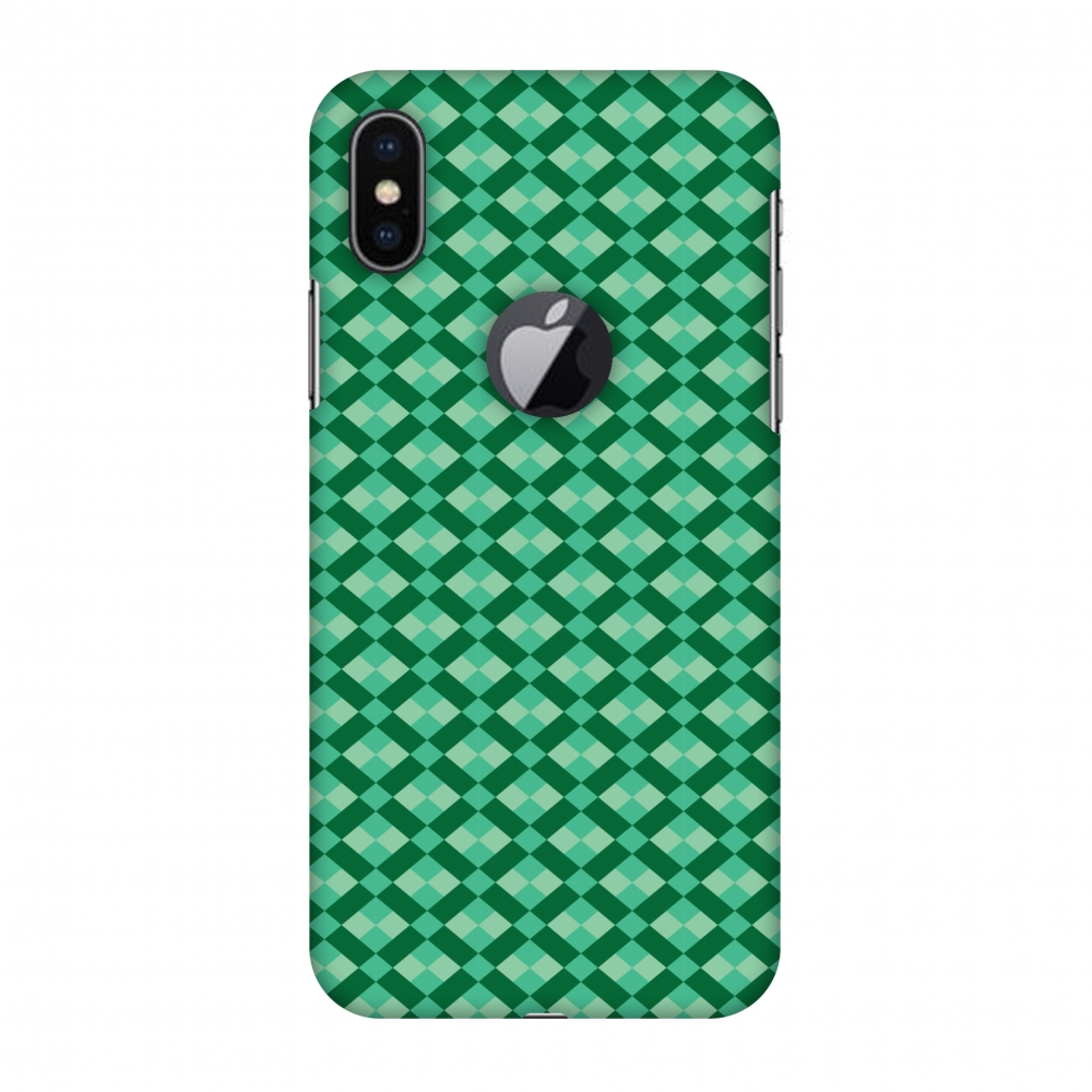 iPhone X Case - Bold Stripes 1, Hard Plastic Back Cover. Slim Profile Cute Printed Designer Snap on Case with Screen Cleaning Kit
