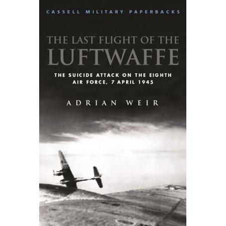 Last Flight of the Luftwaffe - eBook