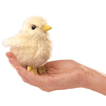 Folkmanis Puppets - 2721 | Mini Chick Finger Puppet - image 1 de 1