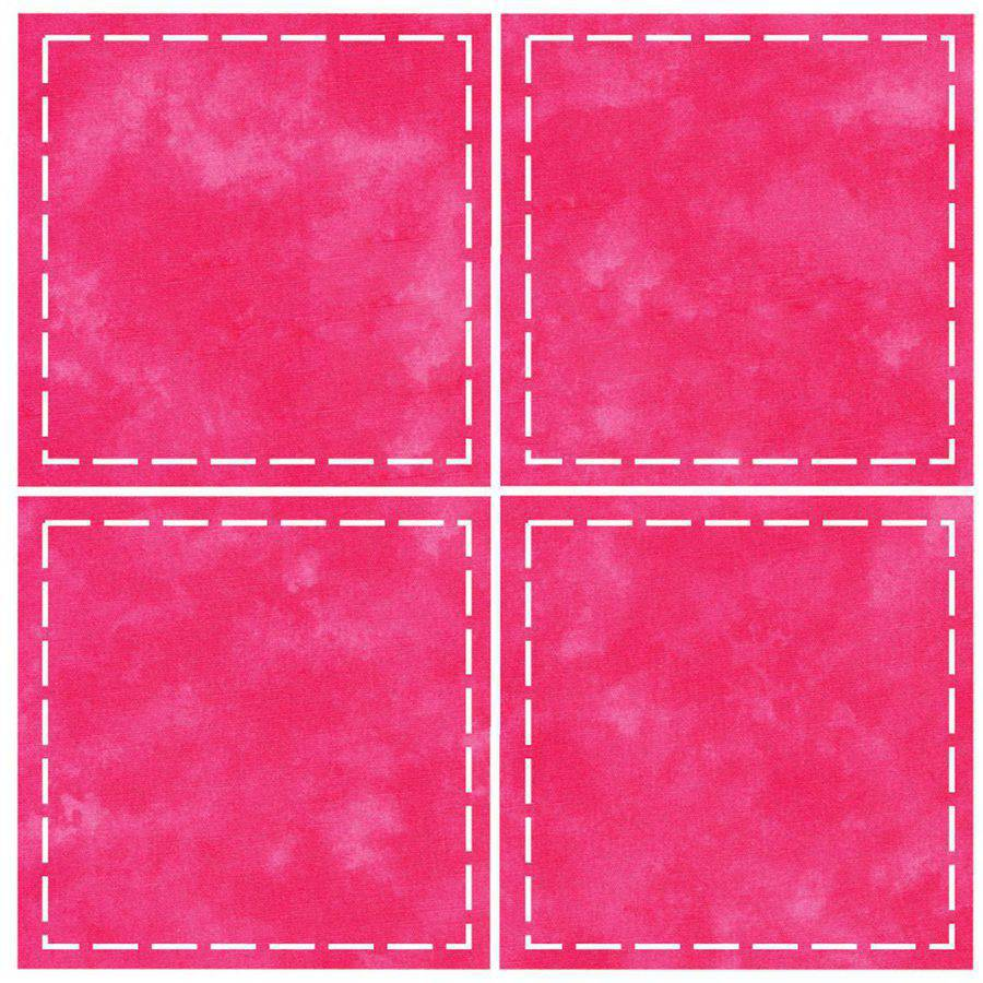 GO! Fabric Cutting Dies-Square 4-1/2 Inch Multiples