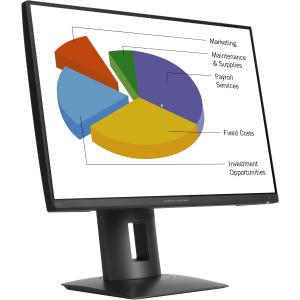 "HP Z24n 24"" LED LCD Monitor - 16:10 - 8 ms - Adjustable D..."