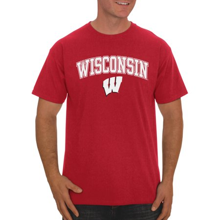 Russell NCAA Wisconsin Badgers Men's Classic Cotton