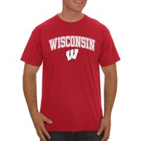 Product Image Rus Ncaa Wisconsin Badgers Men S Clic Cotton T Shirt