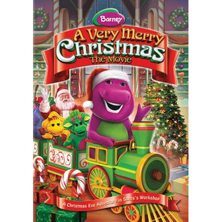 Barney A Very Merry Christmas The Movie Dvd.Barney A Very Merry Christmas The Movie Dvd