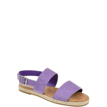 Brinley Co. Womens Double Band Espadrille Sandal