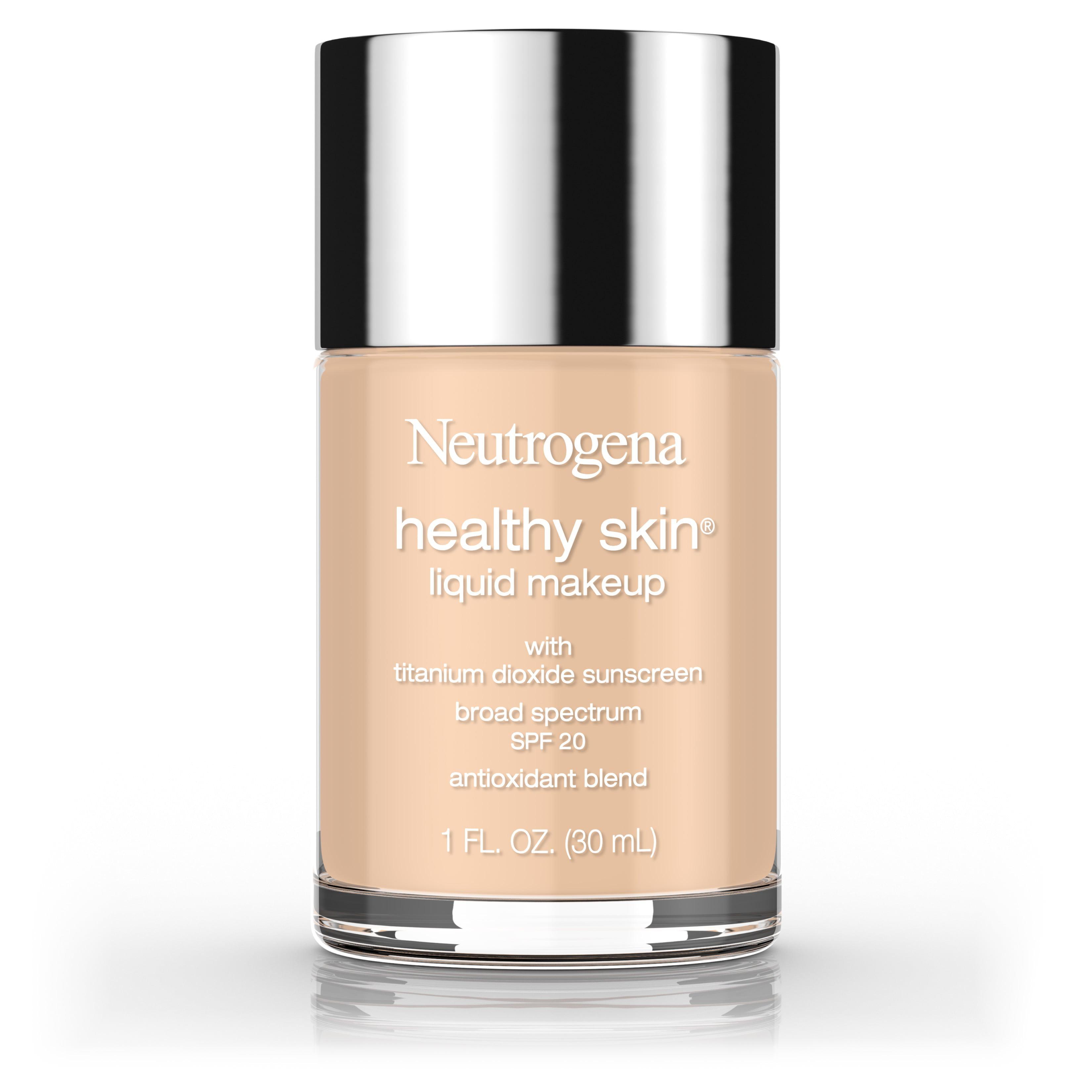 Johnson & Johnson Neutrogena Healthy Skin Liquid Makeup Foundation, Broad Spectrum Spf 20, 70 Fresh Beige, 1 oz.