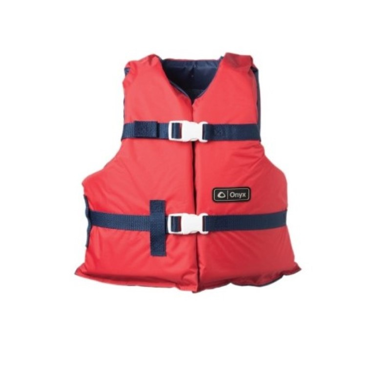 Onyx Youth Boating Vest Red by Generic