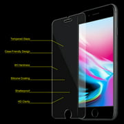 iPhone 8 Screen Protector, Pack of 5 Premium 9H Ultra Clear HD 9H Hardness 2.5D Tempered Glass Screen Protector for Apple iPhone 8 - HD Clear, Case Friendly, Easy Install, Bubble Free, Fit Most Cases