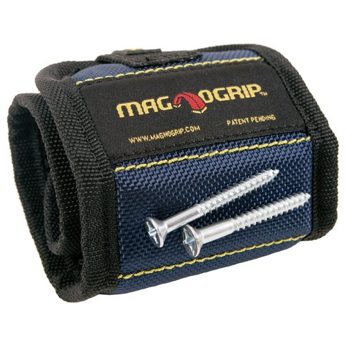 MagnoGrip Magnetic Wristband, Blue