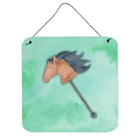 Carolines Treasures BB7366DS66 Stick Horse Watercolor Wall or Door Hanging Prints - image 1 of 1
