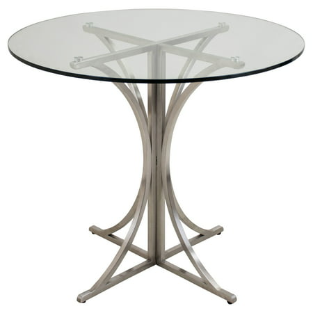 LumiSource Boro Glass Top Dining Table