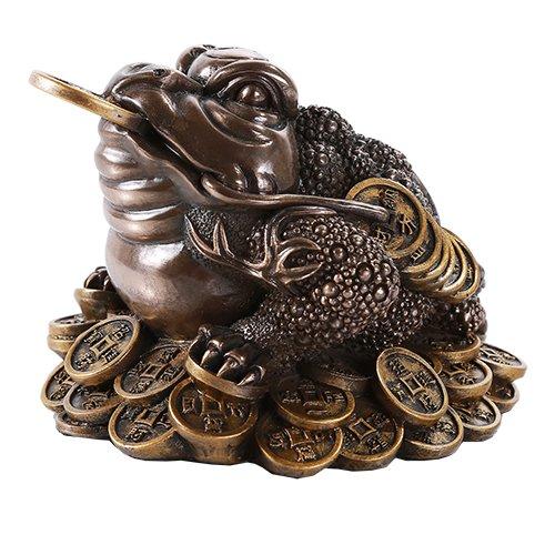 Feng Shui Jin Chan Money Frog Decorative Talisman Figurine